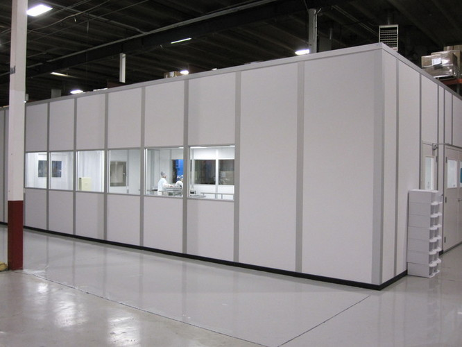 Scientific bio tech cleanroom