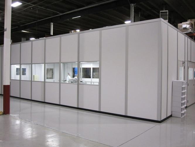 Scientific bio tech cleanroom