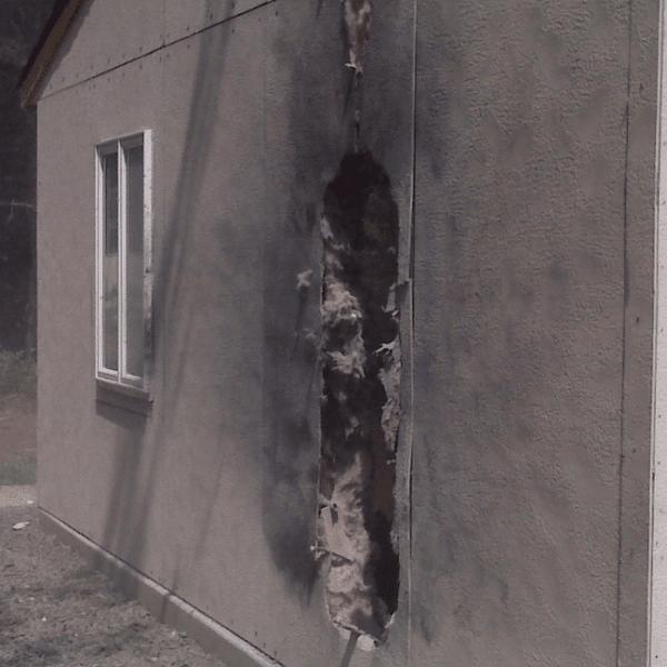 military training blast panel