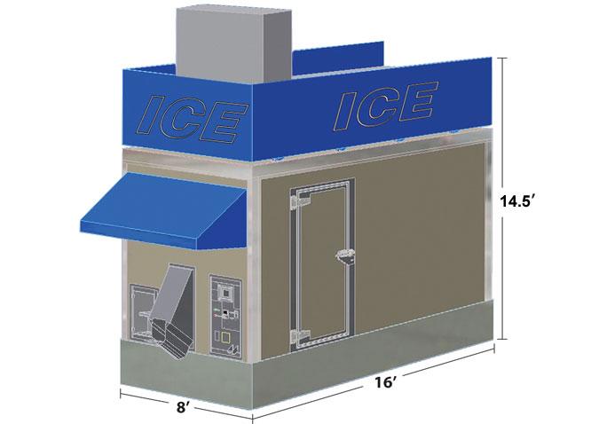 Ice Dispenser; Prototype