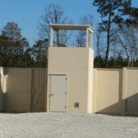 Military Training Guard Tower